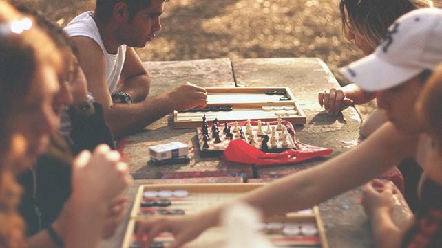 boardgames outside