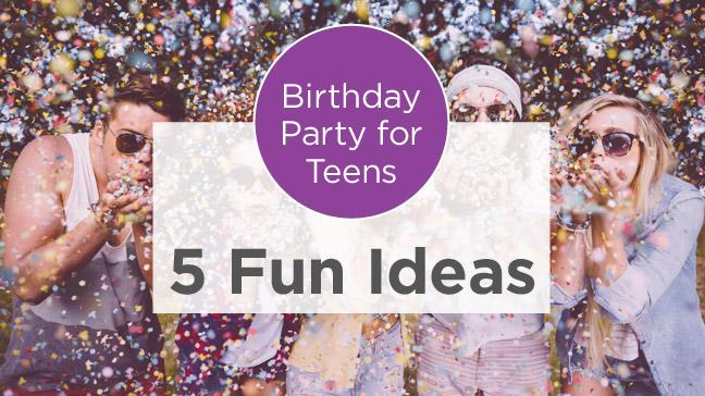 Tremendous Birthday Party Ideas For Teens Throw A Fun Celebration Short Hairstyles For Black Women Fulllsitofus