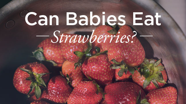 when can you introduce strawberries to baby