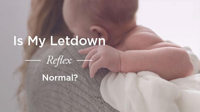 let down reflex
