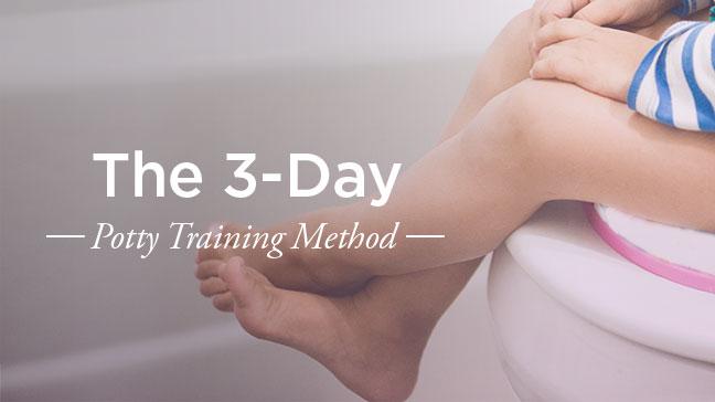 3 day pottie training