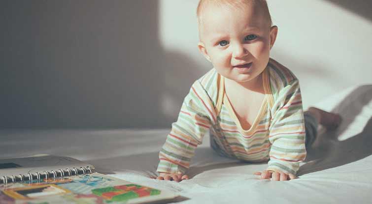 6-Month Baby Milestones Checklist