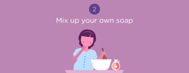 mix your own soap