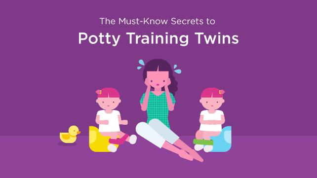 potty training twins