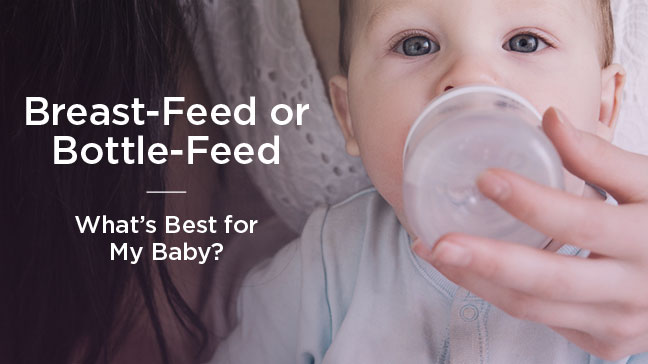 breastfeed or bottle feed Recently we provided a few bottle-feeding tips in our story about actress and breast cancer survivor christina applegate not all moms can breastfeed, so it's.