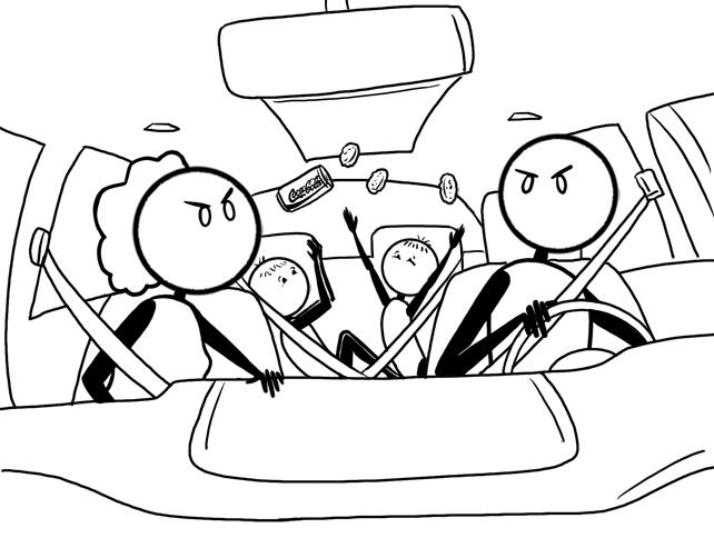backseat noise