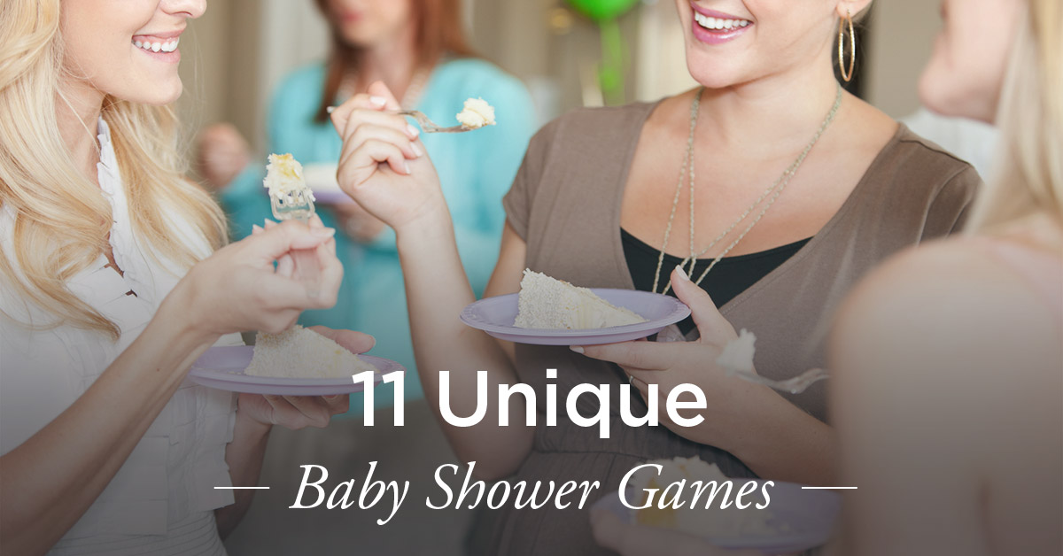 unique baby shower games fun ideas