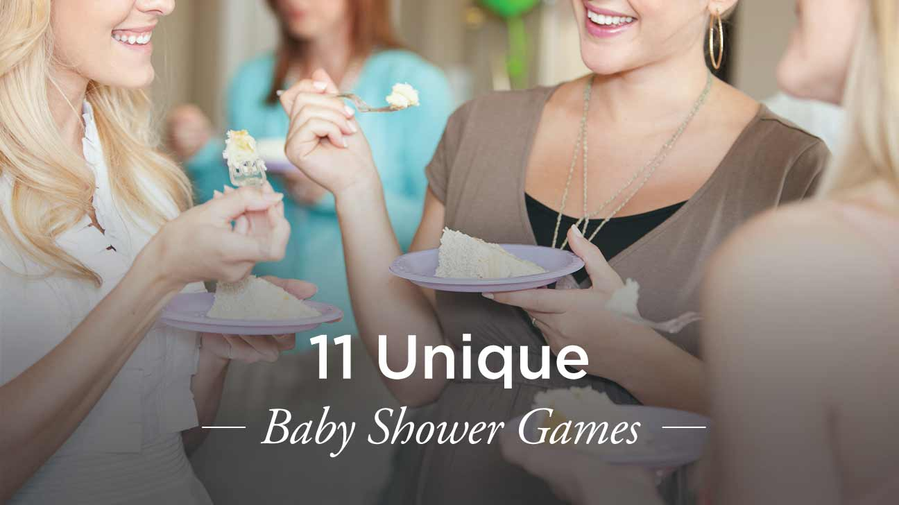 11 unique baby shower games your guests will love