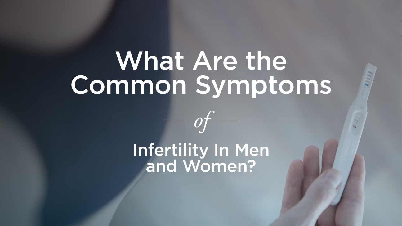 Signs of Infertility