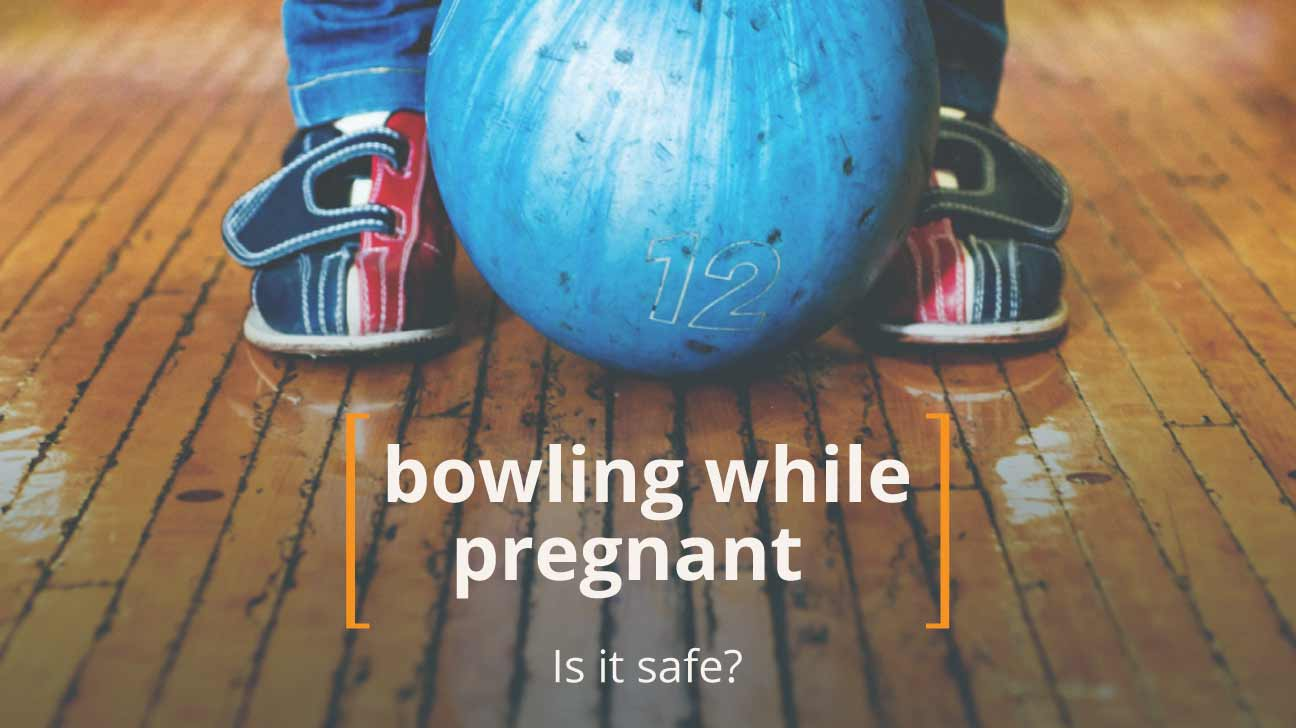 Bowling while pregnant