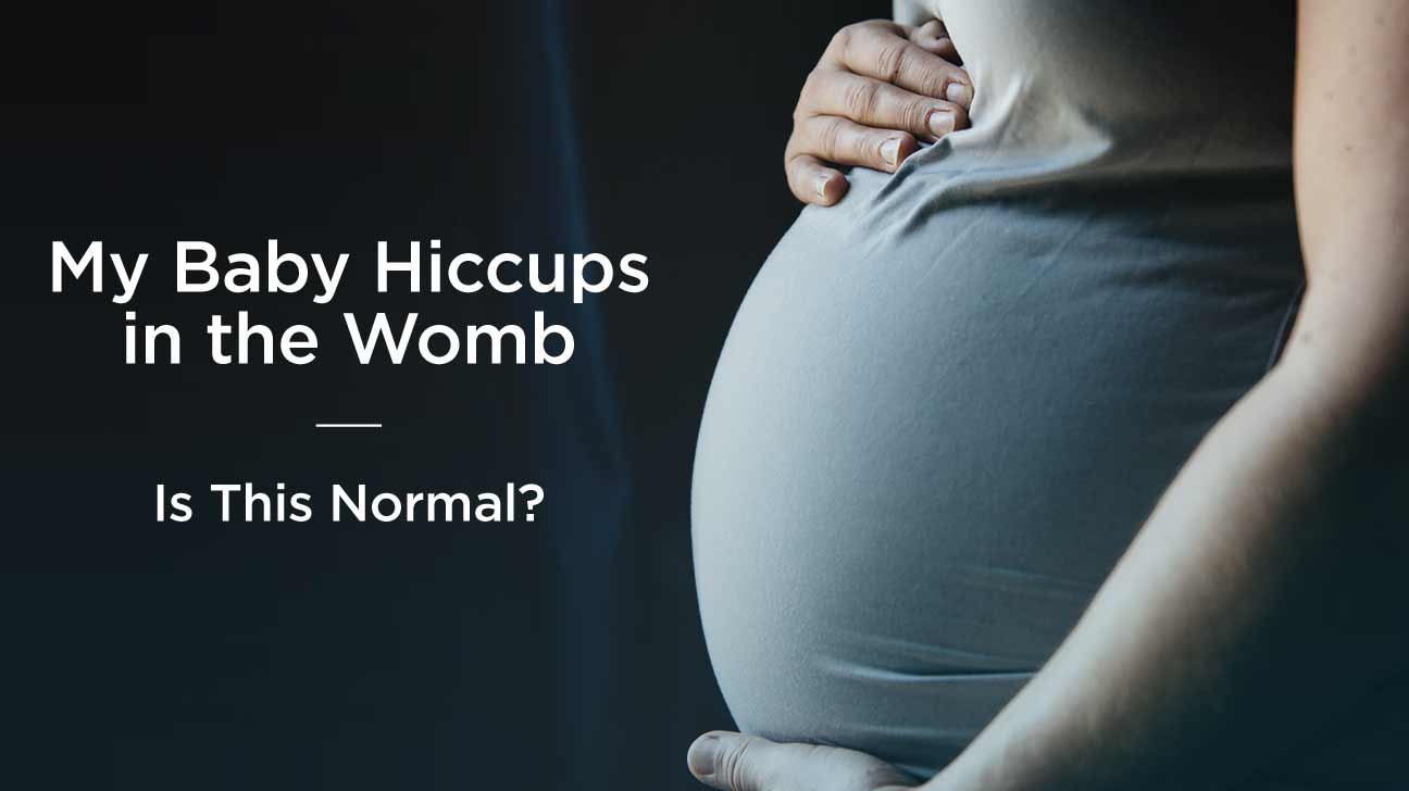 the cure for newborn hiccups