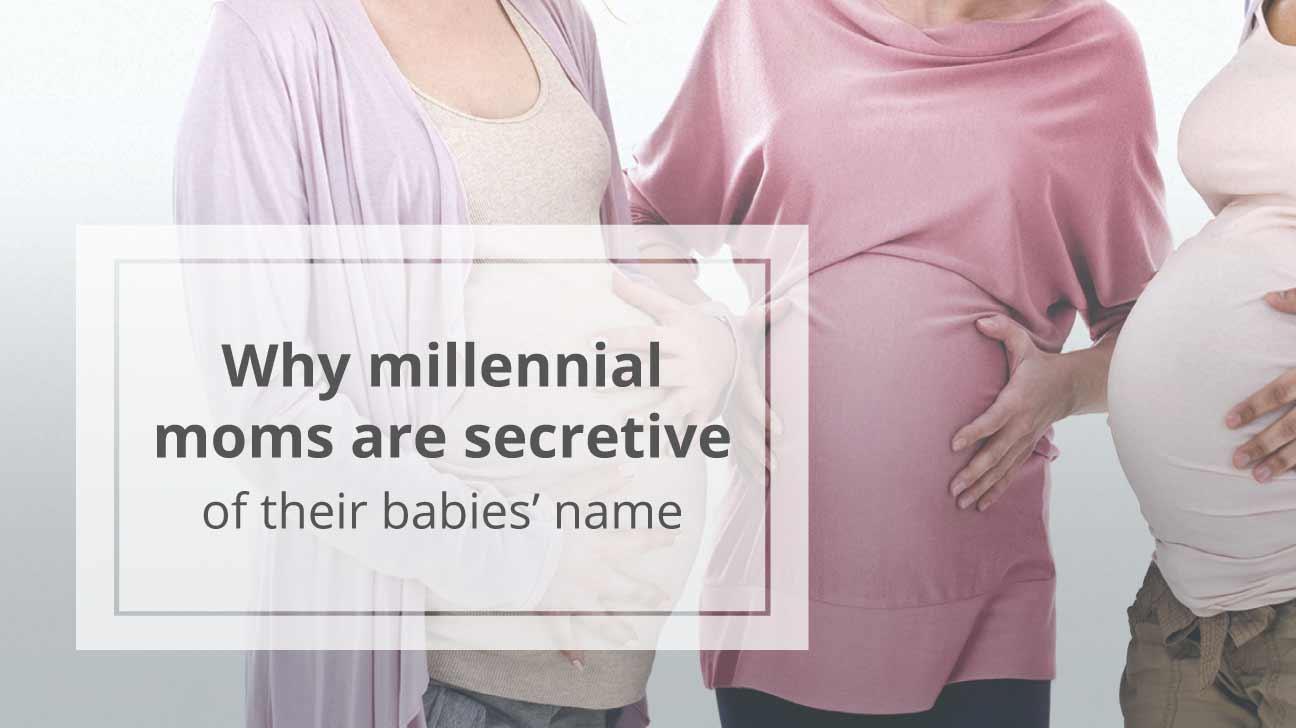 three pregnant millennials
