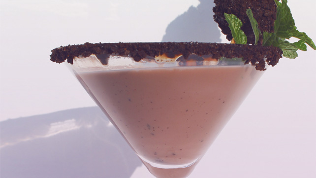 ... mint cocktail elderflower mint prosecco cocktail thin mint martini
