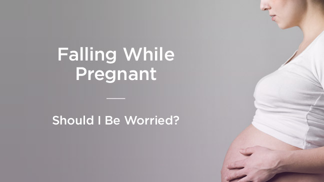 Falling Down Stairs When Pregnant