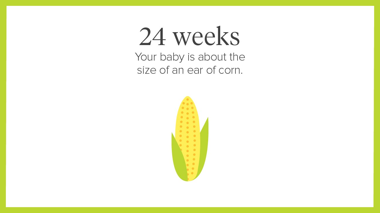 24 weeks pregnant: symptoms, tips, and more