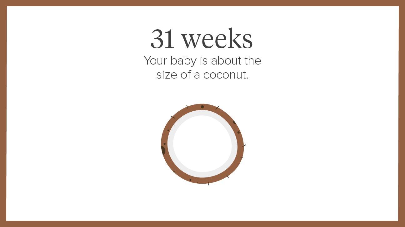 week 31 baby