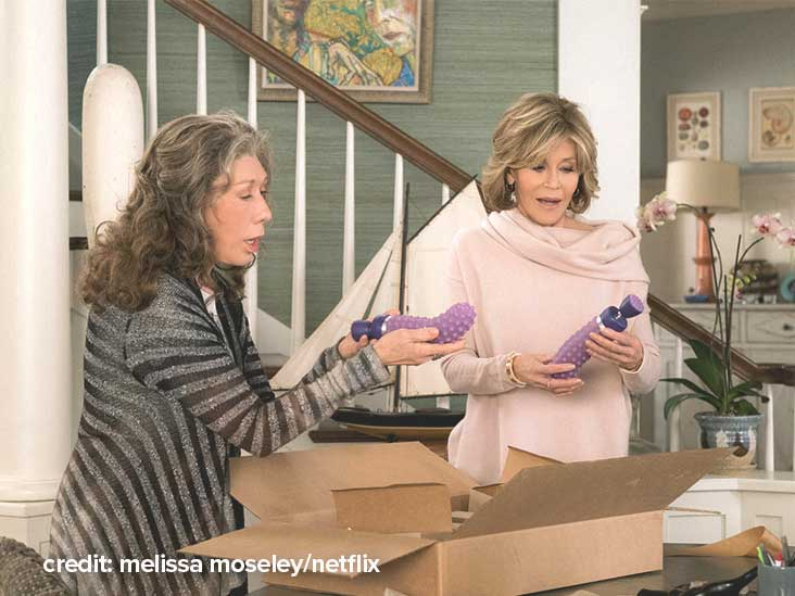 We Asked Women with RA to Review the Vibrator from Netflix's 'Grace and Frankie' — This Is What They Said