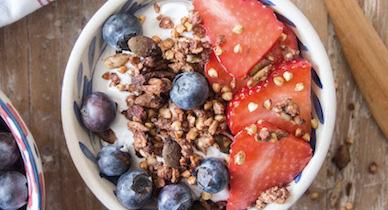 buckwheat quinoa granola