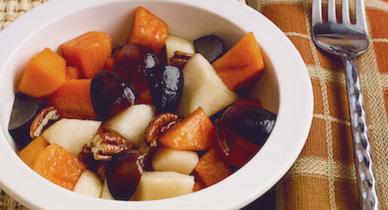 Ensalada de fruta de invierno para la psoriasis