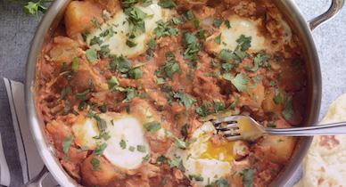 papas al curry para la psoriasis
