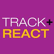 Track + React logo
