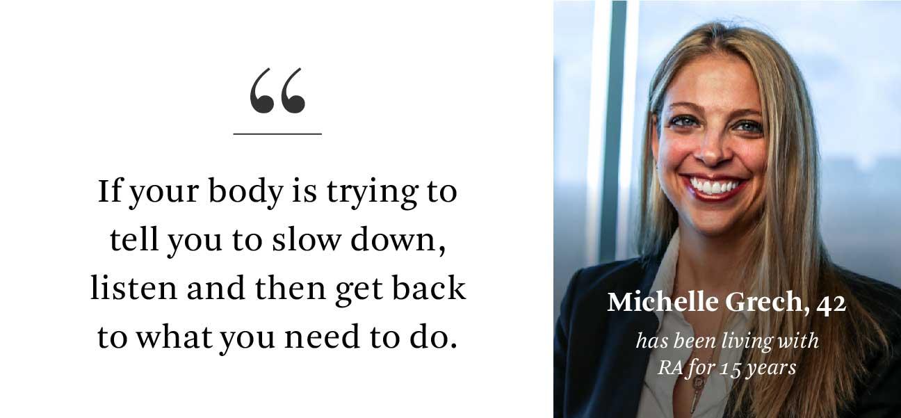 Michelle Grech RA Quote