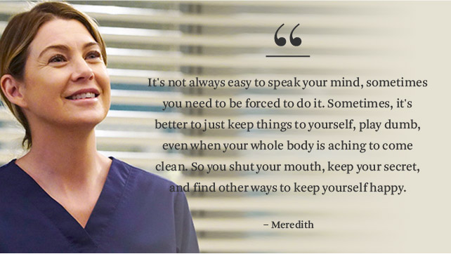 14 'Grey's Anatomy' Quotes That Give Us Life