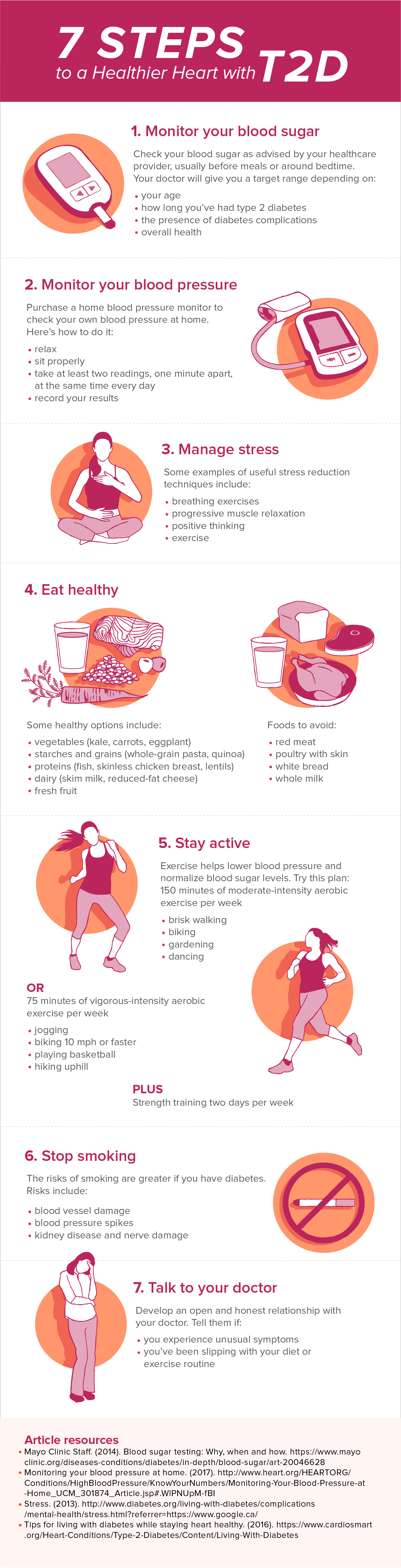 steps to healthier heart
