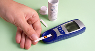 Fast-Acting Glucose Meter