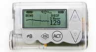 electronic insulin monitor