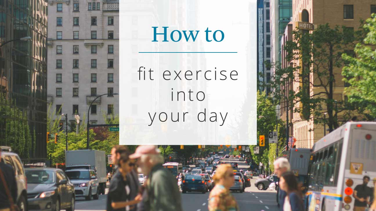 How to Fit Exercise Into Your Day with Type 2 Diabetes