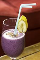 blueberry flax smoothie