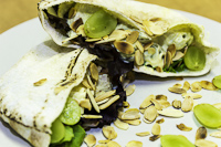 curried chicken salad pitas