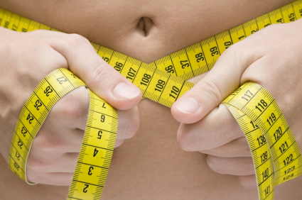 Cutting those extra calories each day can take inches off your waistline.